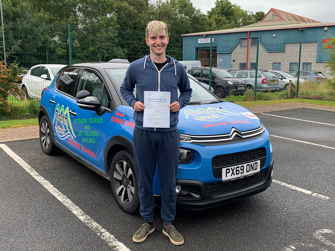 passing after driving tuition penrith