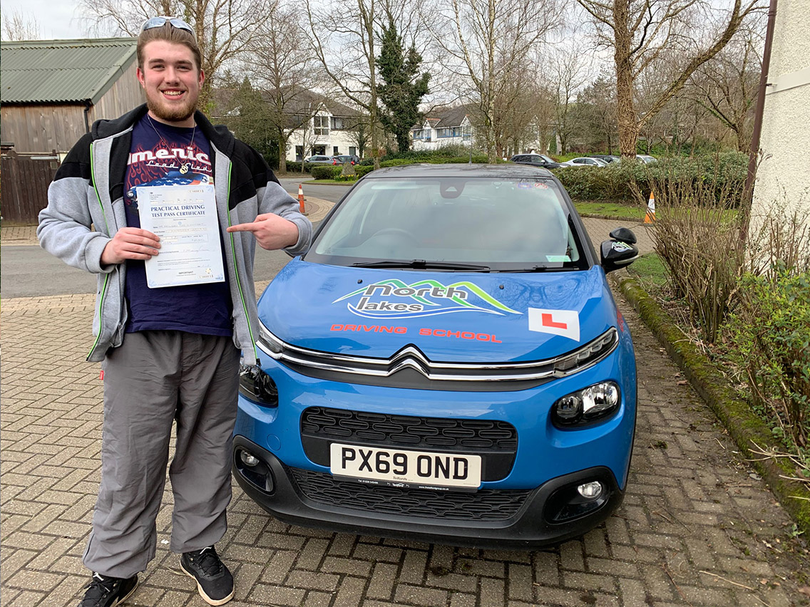 another successfull driving test pass keswick