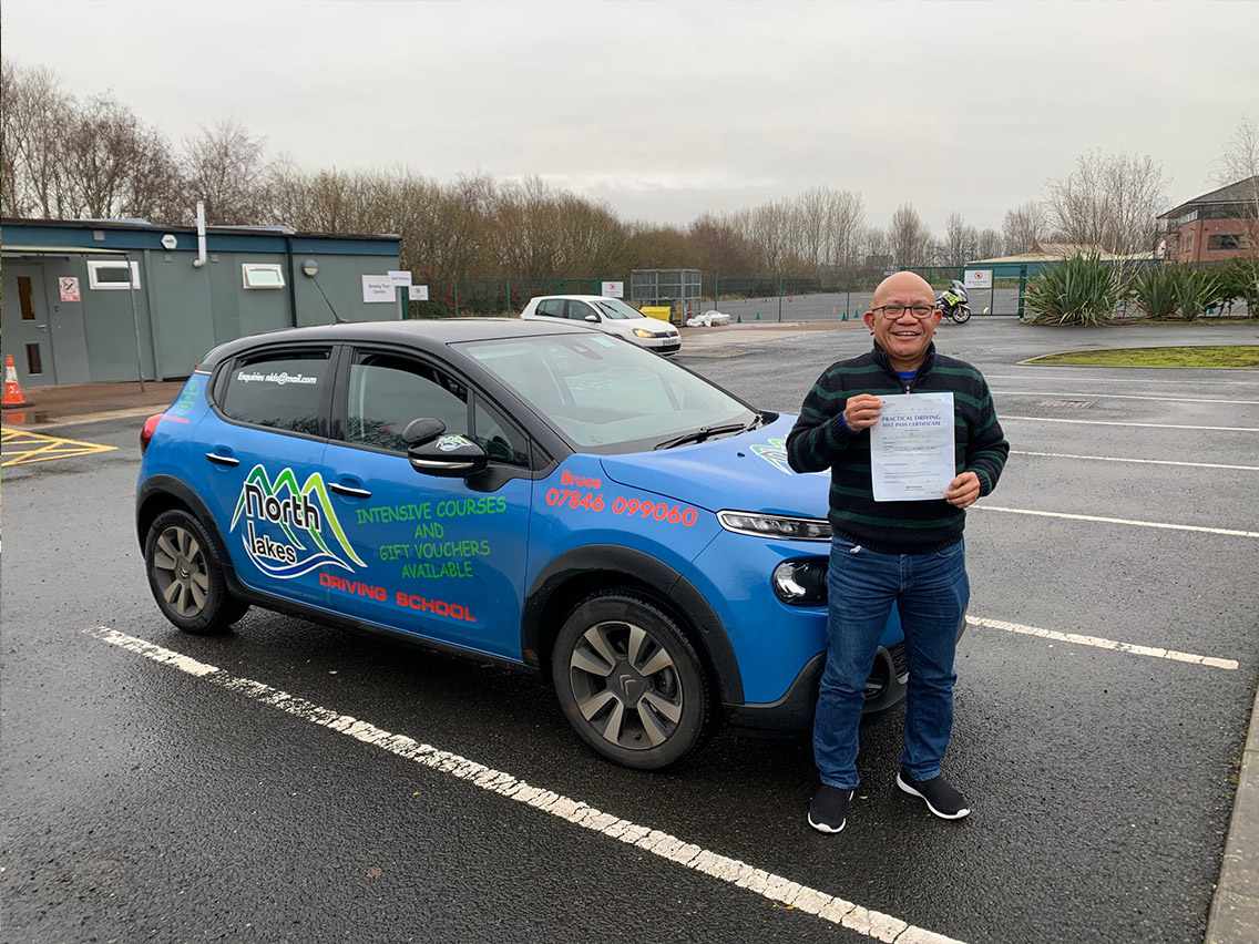 pasing test - driving lessons in keswick